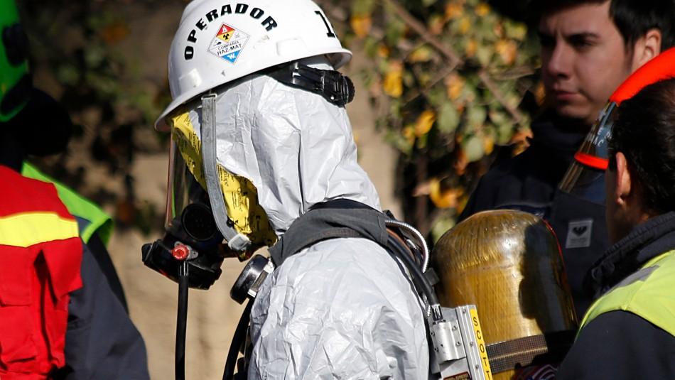 Explosión en empresa de Maipú: Bomberos controló la emergencia