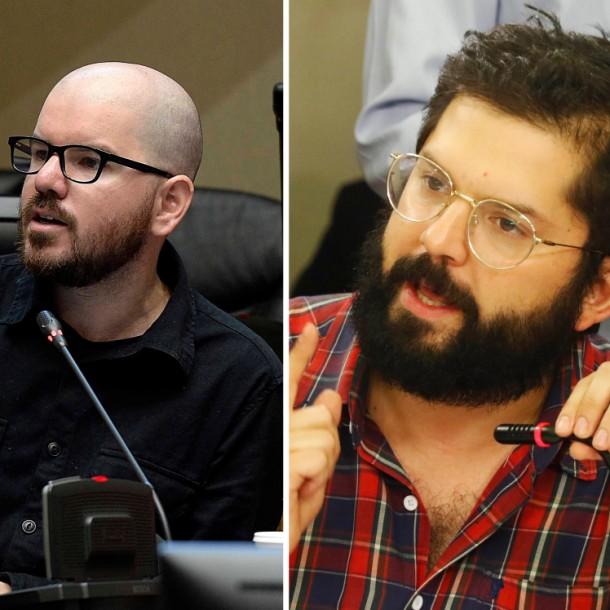 Giorgio Jackson y Gabriel Boric reconocen error al aprobar ley antisaqueo: