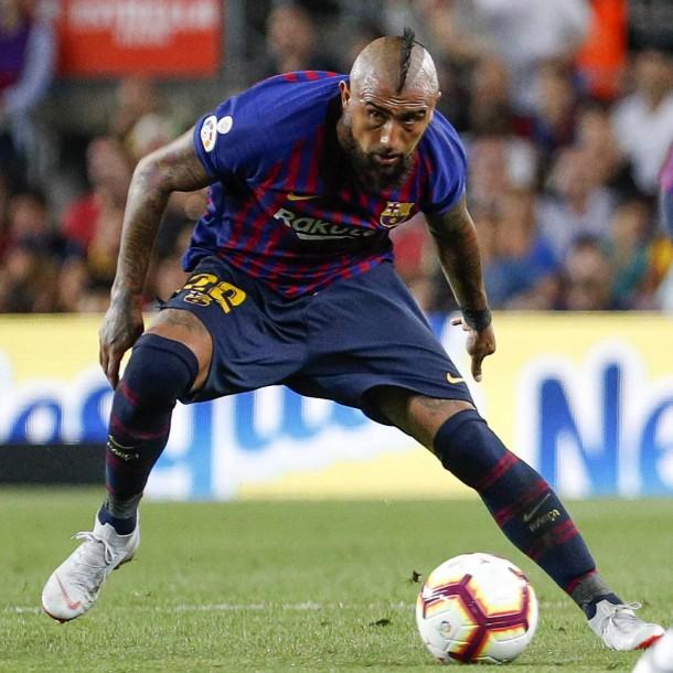 Sigue el partido del Barcelona de Arturo Vidal ante Mallorca por la Liga Española