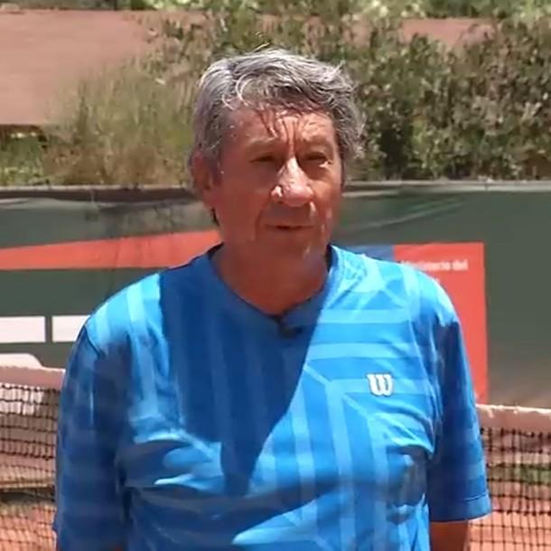 La historia del tenista chileno que es campeón mundial en la categoría senior