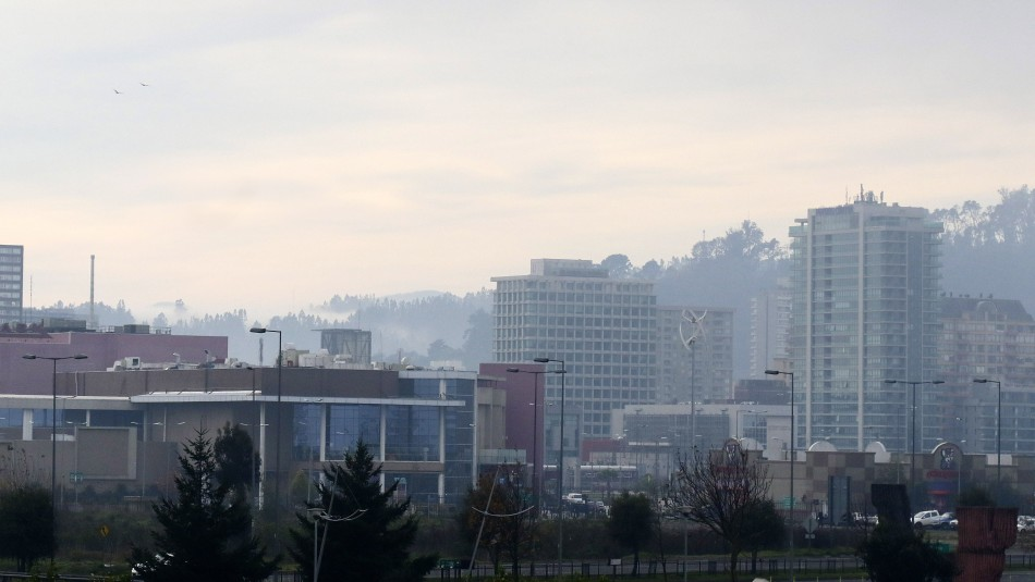 Concepción despejado pero con viento: Revisa el pronóstico del tiempo