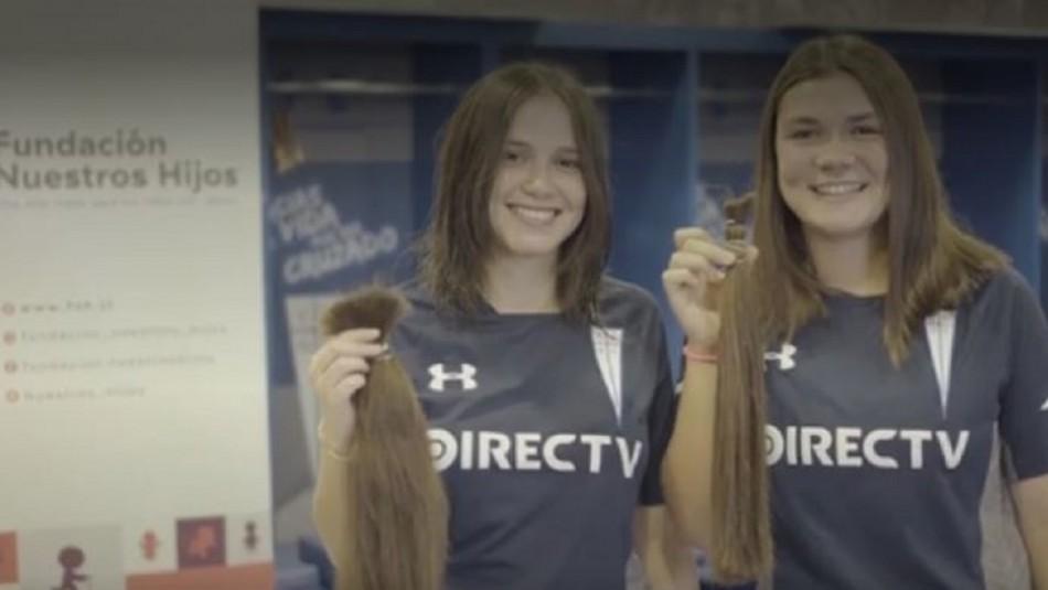 Jugadoras del plantel femenino de la UC donaron su pelo para pacientes oncológicos