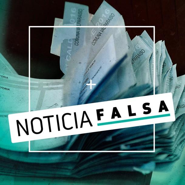 La falsa información sobre papeleta de votación del Plebiscito de 2020 que circula en internet