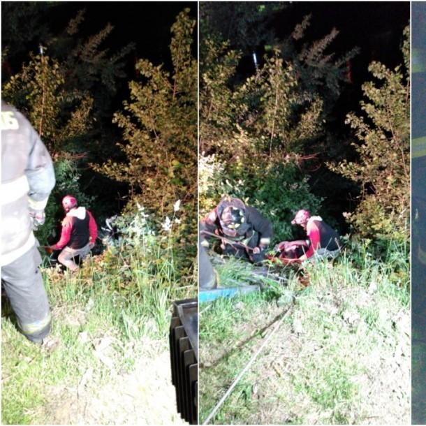 Bomberos rescata persona que cayó al río Rahue en Osorno