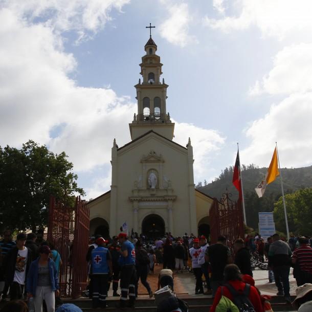 Cortes de tránsito en la ruta 68: El plan de contingencia para llegar al santuario de Lo Vásquez
