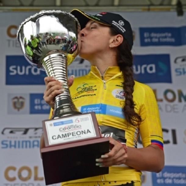 Campeona: Chilena hace historia al ganar la vuelta a Colombia