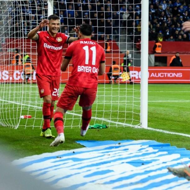 Charles Aránguiz fue titular en triunfo del Bayer Leverkusen en la Liga alemana
