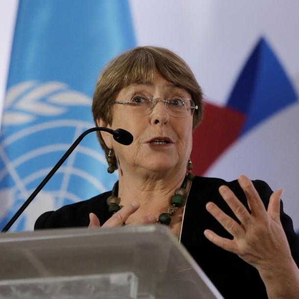 Michelle Bachelet por cambio climático: