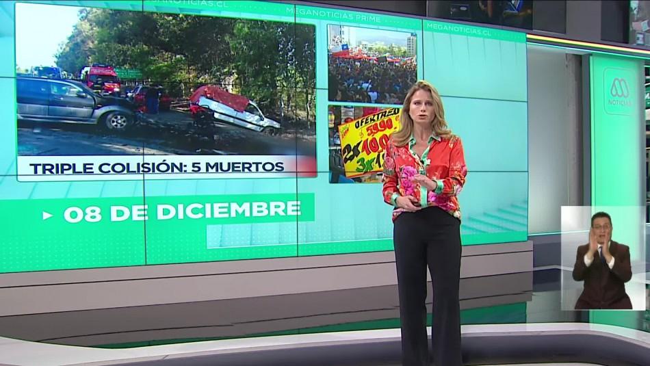 Meganoticias Prime - Domingo 08 de diciembre 2019