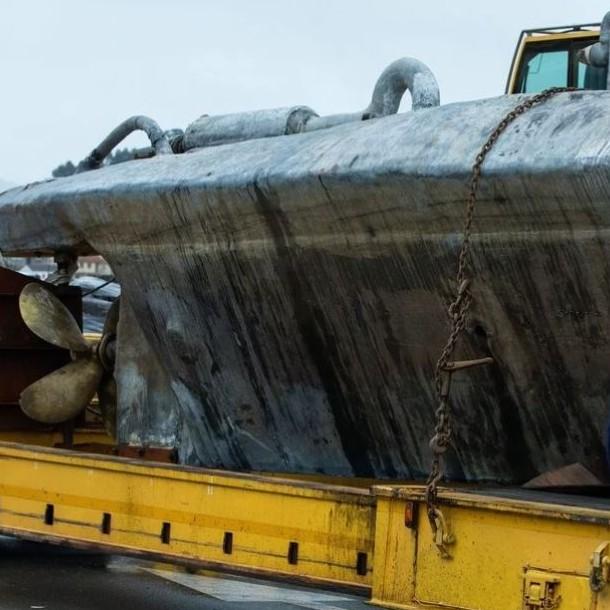 Policía intercepta un narcosubmarino con unos 2.000 kilos de droga