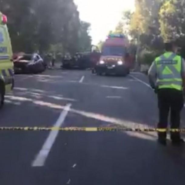 Seis personas murieron en la región del Maule tras accidente múltiple