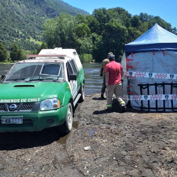 Encuentran ahora el cuerpo de un hombre en el Lago Calafquén