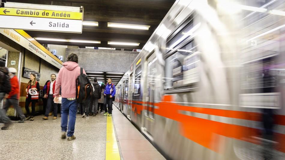 Metro de Santiago: Línea 2 operará con todas sus estaciones a partir de este lunes