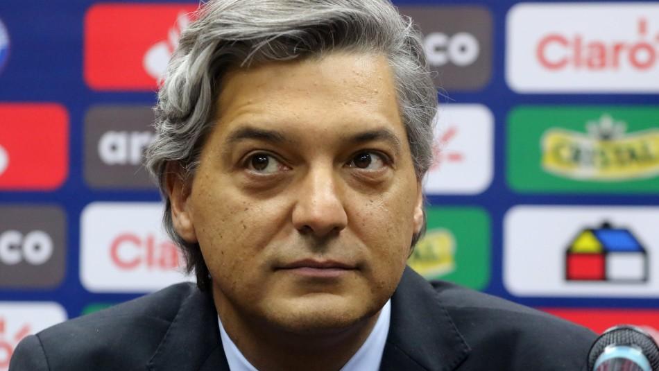 Presidente de la ANFP y suspensión del Torneo: