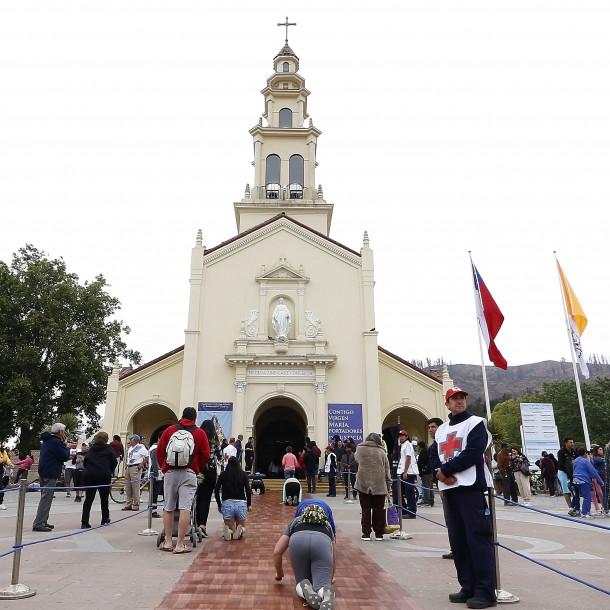 Actividades en Santuario de Lo Vásquez: Misa cada una hora y procesión desde las 17:00 horas