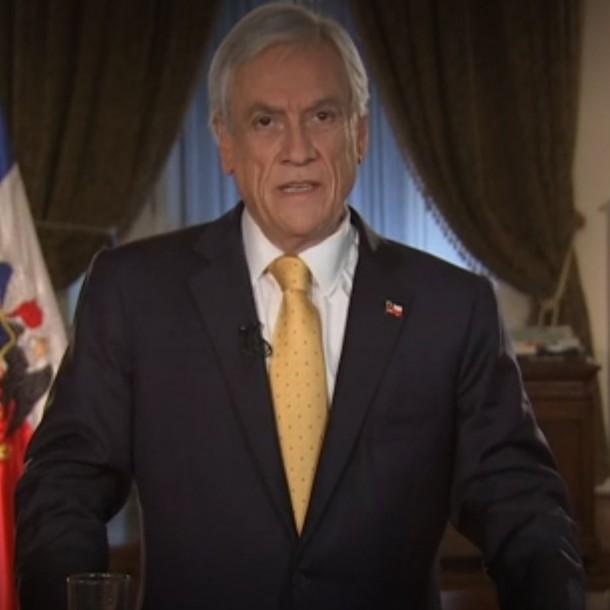 Piñera presenta agenda antiabusos y anuncia penas de cárcel efectivas para delitos de colusión