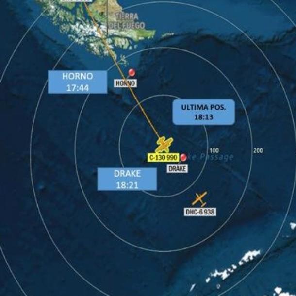 La autonomía de vuelo del avión FACh que perdió contacto rumbo a la Antártica