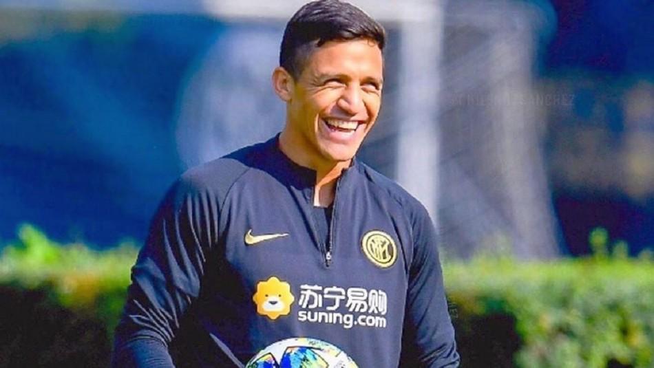 Se acerca el retorno: Alexis Sánchez aparece sonriente en publicación dedicada al Inter