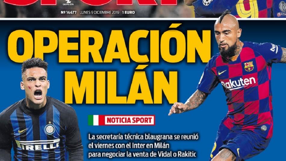 Arturo Vidal da que hablar en España.
