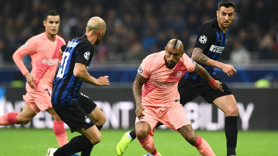 Arturo Vidal espera ser titular en Champions.