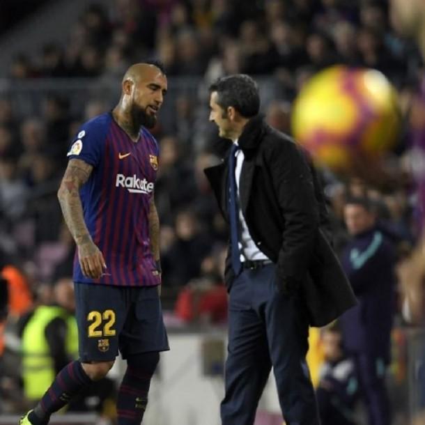 Técnico del Barcelona y posible salida de Vidal:
