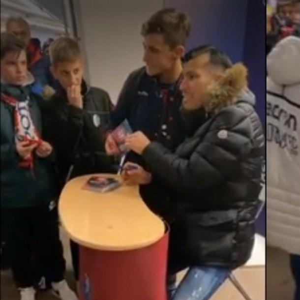 Gary Medel es ídolo en Italia: Hinchas de Bologna hacen fila por su autógrafo y una selfie