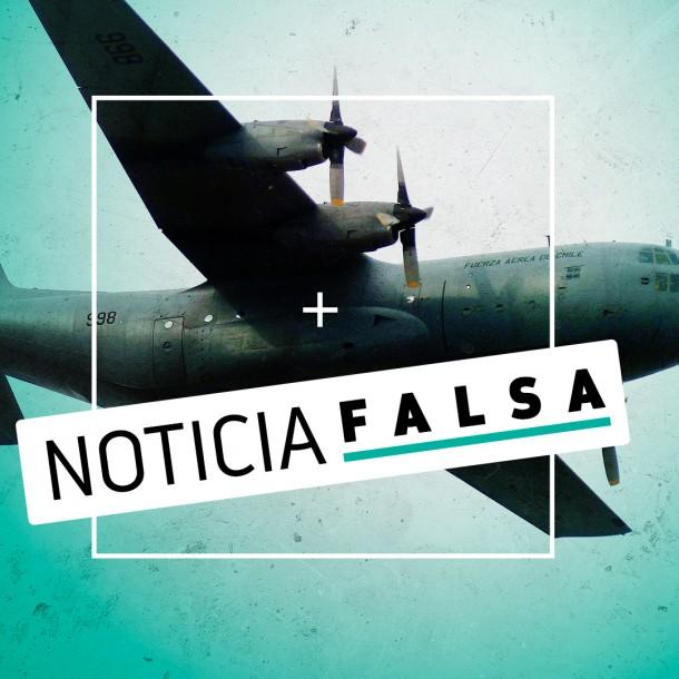 Desmienten supuesto audio de avión de la FACh antes de siniestrarse en el sur de Chile