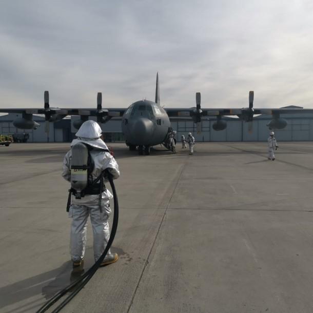 Amplia cobertura internacional ante siniestrado avión de la FACh