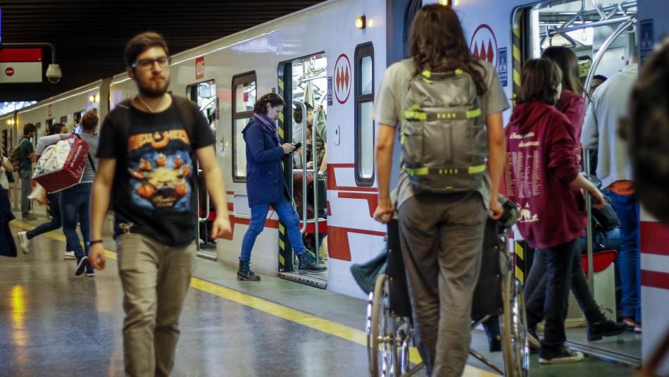 Metro de Santiago: Así será el funcionamiento del servicio este miércoles 11 de diciembre