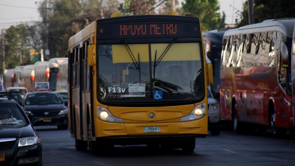 Conoce cómo funcionará el transporte en Santiago durante este miércoles 11 de diciembre