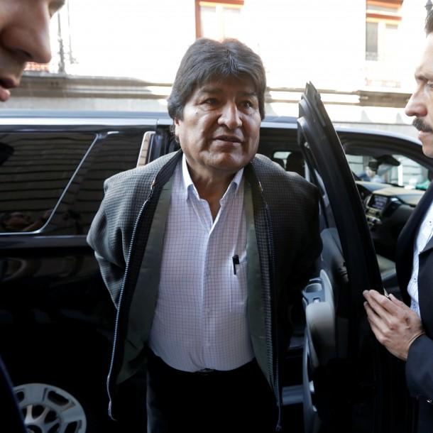 Fiscalía allana casa de Evo Morales en exclusivo barrio de La Paz