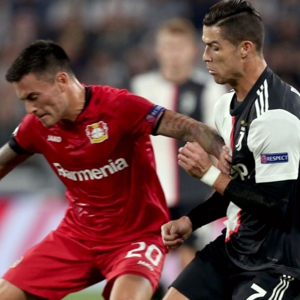 Sigue el partido del Leverkusen vs. Juventus por Champions ¡Charles Aránguiz titular!