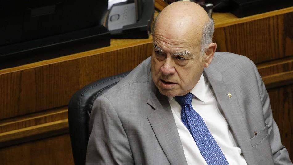 Los argumentos de Insulza para votar a favor de acusación contra Chadwick