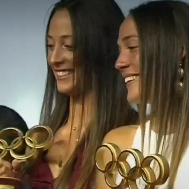 Mellizas Abraham fueron elegidas las mejores deportistas del 2019 en gala del Comité Olímpico