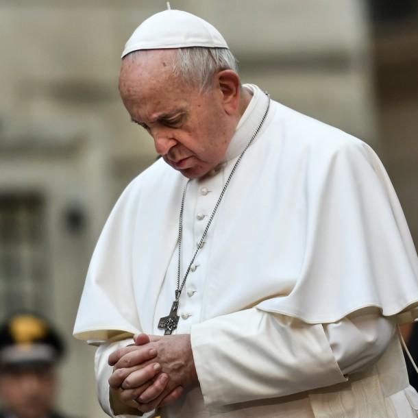 Papa envía mensaje de