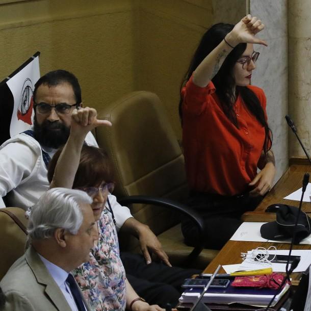 Desde el PC aseguran que buscarán otras vías para acusar al Presidente Piñera