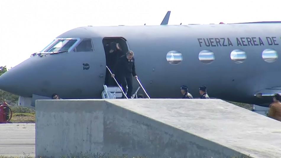 Avión FACh: Espina se reúne en Punta Arenas con fiscal regional y familiares