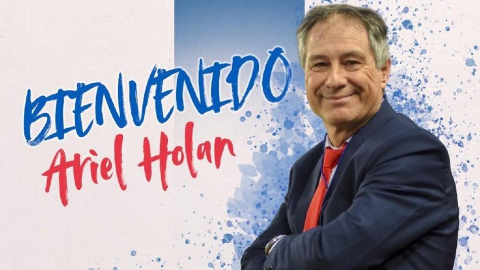 Ariel Holan nuevo técnico de la UC.