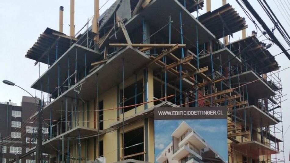 Fiscalía investiga fatal accidente en edificio en construcción de Valdivia
