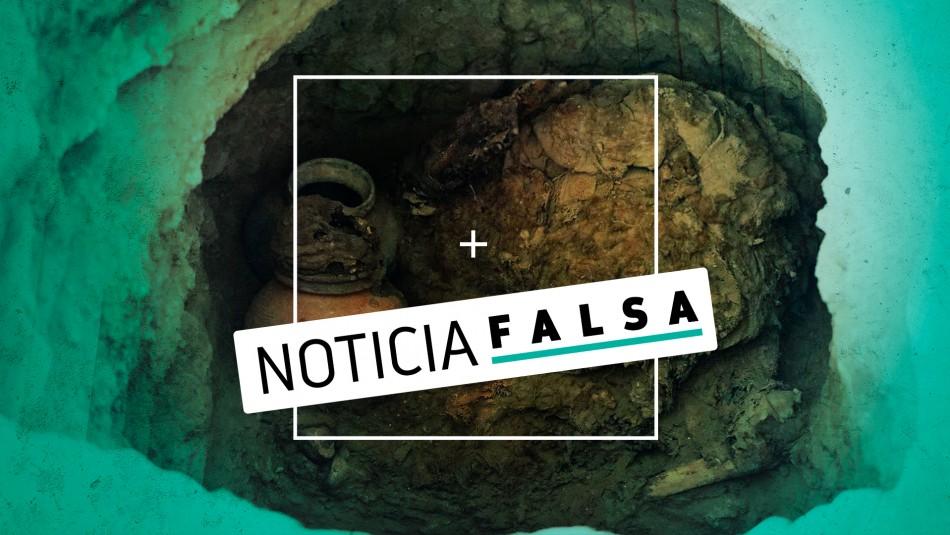 Es falso que hayan encontrado restos humanos antiguos en obras inmobiliarias en Independencia