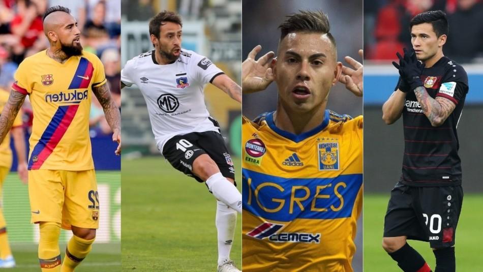 Movidas futbolistas chilenos: Aránguiz seduce a Boca, Andrés Robles a exótico club y ¿Valdivia a Brasil?