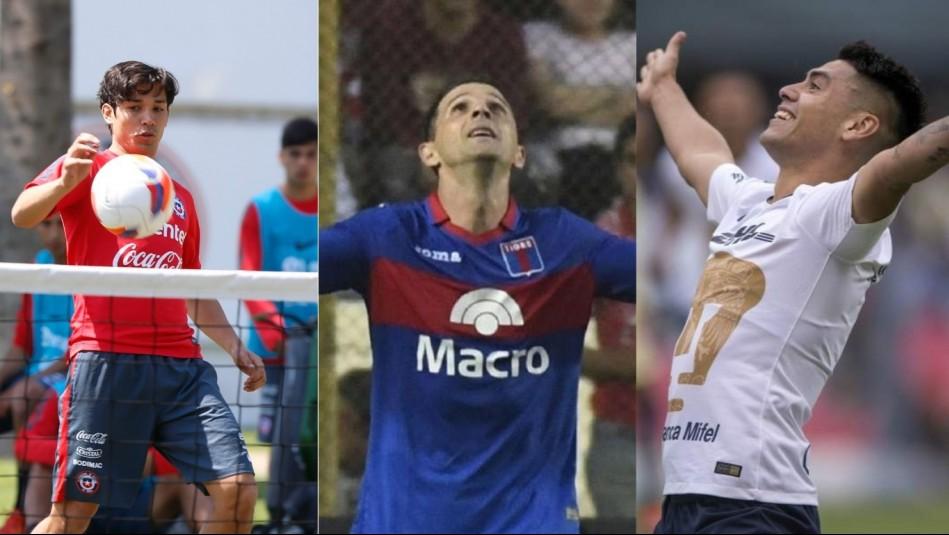 Los fichajes del fútbol chileno.