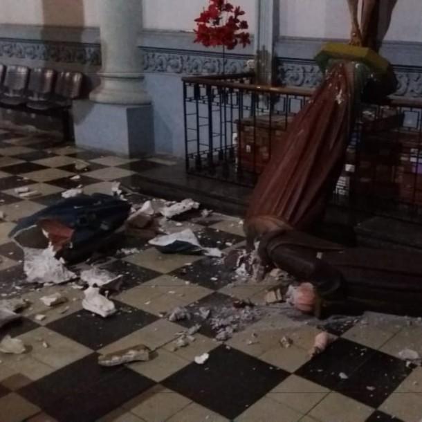 Desconocidos atacan Basílica Corazón de María de Antofagasta