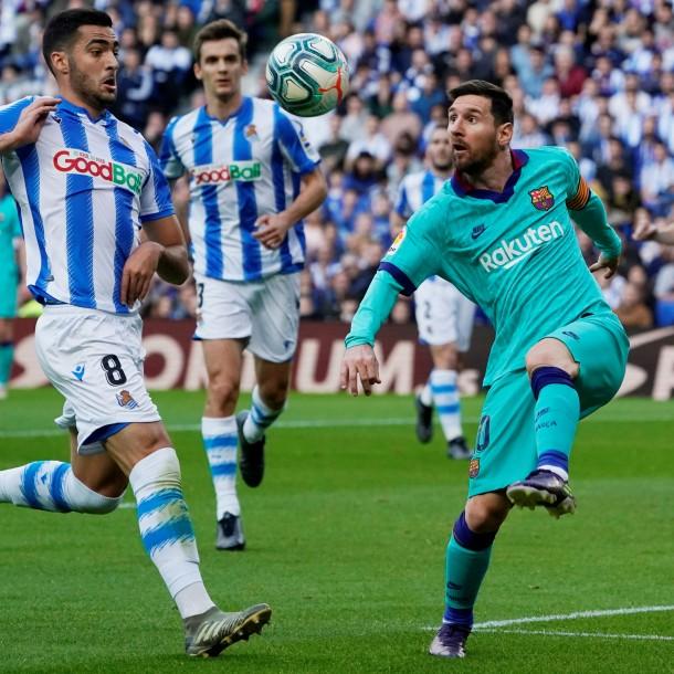 Arturo Vidal sumó minutos en empate de Barcelona frente a Real Sociedad