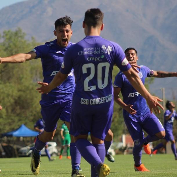 Deportes Concepción asciende a la Segunda División Profesional tras ganarle a Limache a estadio lleno