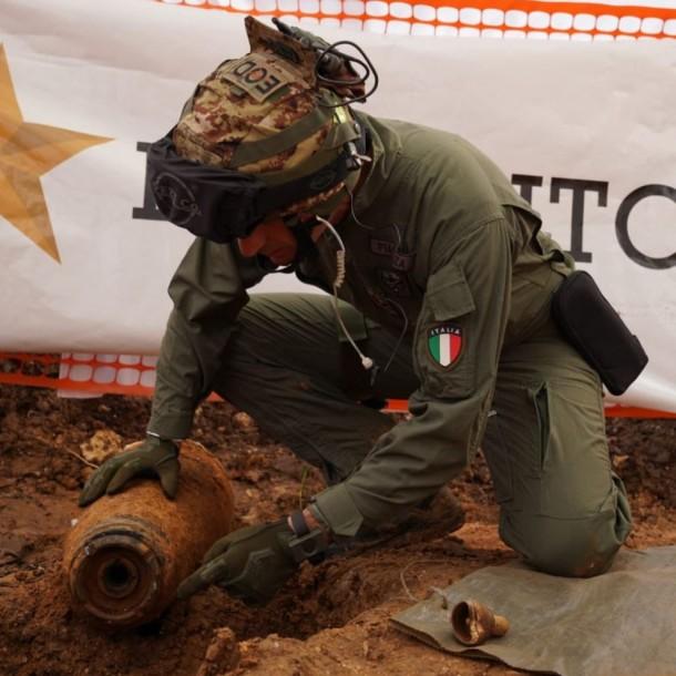 Evacúan a 54.000 personas en ciudad de Italia por hallazgo de bomba de la Segunda Guerra Mundial