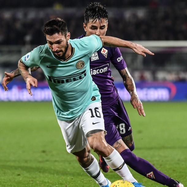 Fiorentina de Pulgar empató como local con Inter de Alexis que ahora comparte el liderato con la Juventus