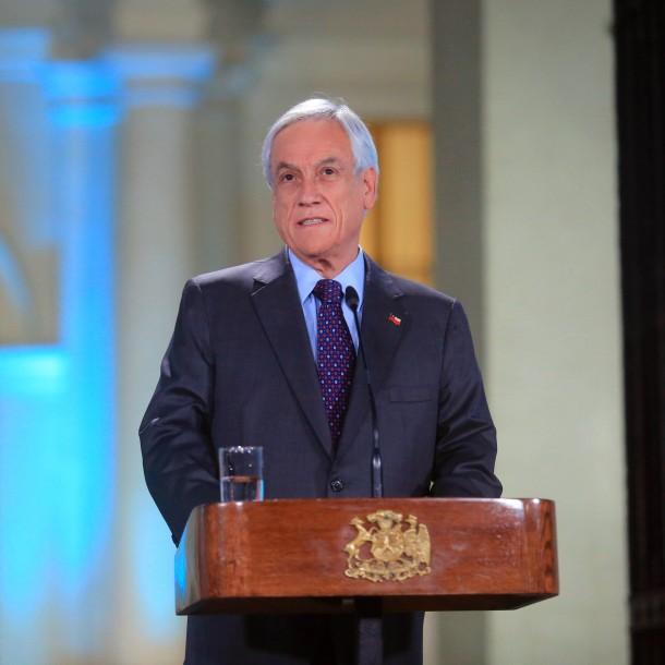 Encuesta Cadem: Aprobación del Presidente Piñera se mantiene en 13%