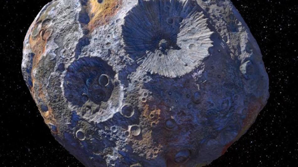 Nasa enviará una misión para analizar asteroide que podría tener grandes cantidades de oro