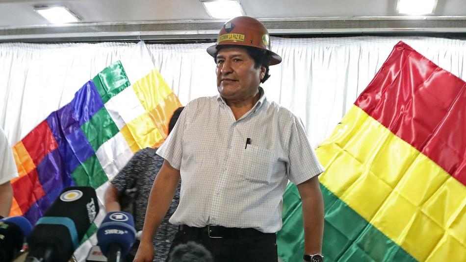 Evo Morales definirá fórmula para elecciones presidenciales bolivianas desde Argentina